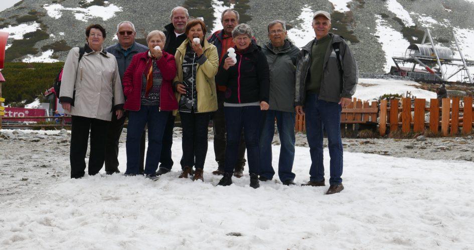 Matičiari po roku opäť vo Vysokých Tatrách