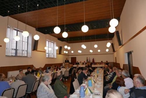 Fotografie z výročného zhromaždenia MO Matice slovenskej v Abraháme rok  2018