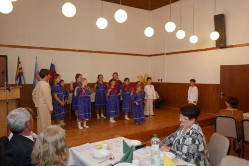 Fotografie z výročného zhromaždenia MO Matice slovenskej v Abraháme rok  2019