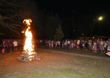 V Abraháme aj v tomto roku  horela Vatra Ústavy