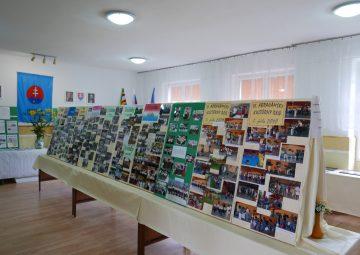 Výstava inštalovaná MO MS  počas hodových dní