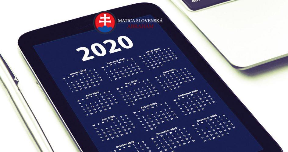 Plán činnosti na rok 2020