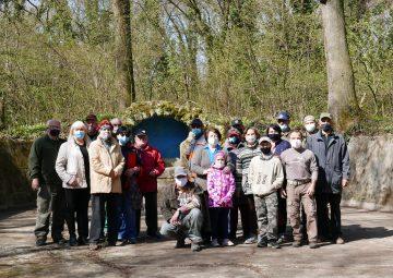 Ako sme v miestnom lese brigádovali…